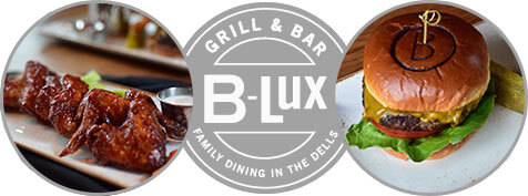 Wings and Burgers from B-lux Grill