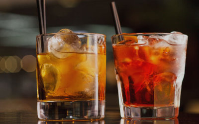 Happy hour specials and drinks at Pizza Pub