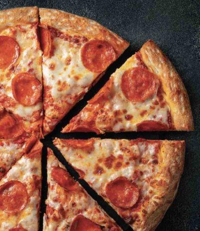 Pizza Pub pepperoni pizza.